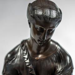 Pierre Eug ne Emile H bert A Fine Patinated Bronze Sculpture depicting Thetis - 1469109