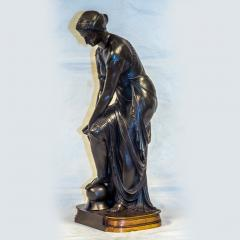Pierre Eug ne Emile H bert A Fine Patinated Bronze Sculpture depicting Thetis - 1469112