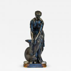 Pierre Eug ne Emile H bert A Fine Patinated Bronze Sculpture depicting Thetis - 1470796