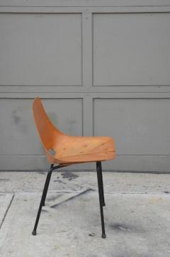 Pierre Guariche Pair of Bent Plywood Tonneau Side Chairs by Pierre Guariche - 953558