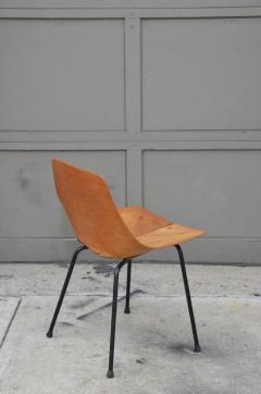 Pierre Guariche Pair of Bent Plywood Tonneau Side Chairs by Pierre Guariche - 953560