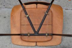 Pierre Guariche Pair of Bent Plywood Tonneau Side Chairs by Pierre Guariche - 953561