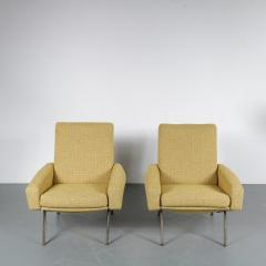 Pierre Guariche Pierre Guariche Troika Lounge Chairs for Airborne France 1960 - 1210113