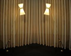 Pierre Guariche Rare Set of Four Floor Lamps Model of Pierre Guariche 1970 - 777867
