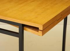 Pierre Guariche Rare expandable dining room table by Pierre Guariche and ARP France 1960s - 1040473