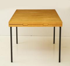 Pierre Guariche Rare expandable dining room table by Pierre Guariche and ARP France 1960s - 1040474