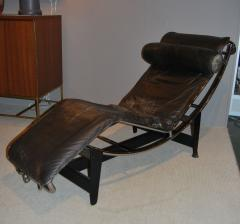 Pierre Jeanneret Early Le Corbusier Jeanneret Perriand LC4 Chaise Lounge - 144482