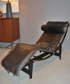 Pierre Jeanneret Early Le Corbusier Jeanneret Perriand LC4 Chaise Lounge - 144484