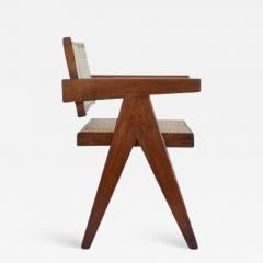 Pierre Jeanneret Office Cane Chair  - 1099136