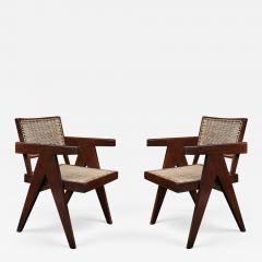 Pierre Jeanneret Pair of Pierre Jeanneret Office Chairs - 1137895
