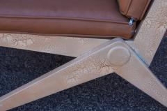 Pierre Jeanneret Pair of Scissor Chairs Model 92 by Pierre Jeanneret for Knoll - 2043780