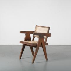 Pierre Jeanneret Pierre Jeanneret Office Cane Chair for Chandigarh India 1950 - 1409018
