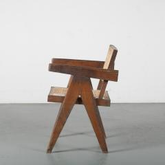 Pierre Jeanneret Pierre Jeanneret Office Cane Chair for Chandigarh India 1950 - 1409019