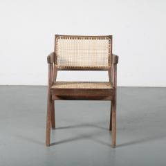 Pierre Jeanneret Pierre Jeanneret Office Cane Chair for Chandigarh India 1950 - 1409020