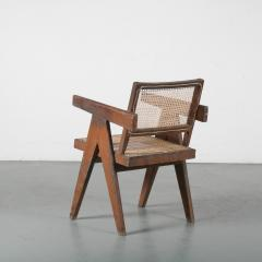 Pierre Jeanneret Pierre Jeanneret Office Cane Chair for Chandigarh India 1950 - 1409021