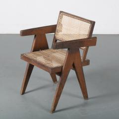 Pierre Jeanneret Pierre Jeanneret Office Cane Chair for Chandigarh India 1950 - 1409022
