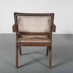 Pierre Jeanneret Pierre Jeanneret Office Cane Chair for Chandigarh India 1950 - 1409023