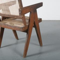 Pierre Jeanneret Pierre Jeanneret Office Cane Chair for Chandigarh India 1950 - 1409025