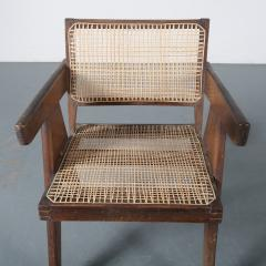 Pierre Jeanneret Pierre Jeanneret Office Cane Chair for Chandigarh India 1950 - 1409027