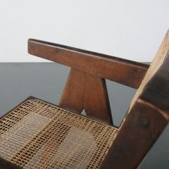Pierre Jeanneret Pierre Jeanneret Office Cane Chair for Chandigarh India 1950 - 1409028