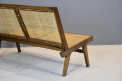 Pierre Jeanneret Pierre Jeanneret Rare Folding Settee 1958 - 1854046