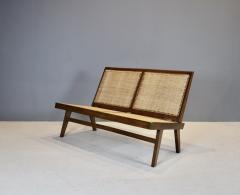 Pierre Jeanneret Pierre Jeanneret Rare Folding Settee 1958 - 1854048