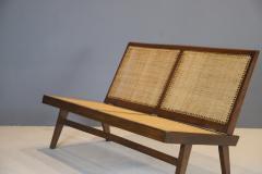 Pierre Jeanneret Pierre Jeanneret Rare Folding Settee 1958 - 1854049