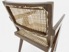 Pierre Jeanneret Pierre Jeanneret Teak and Cane Office Chair from Chandigarh - 995114