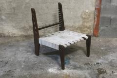 Pierre Jeanneret Pierre Jeanneret Very Rare Pair of Demountable Armless Chairs - 1969470