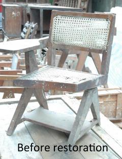 Pierre Jeanneret Pierre Jeanneret Writing Cane Chair - 1969387