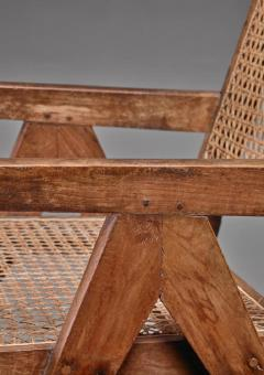 Pierre Jeanneret Pierre Jeanneret pair of Chandigarh High Court easy chairs 1950s - 760154
