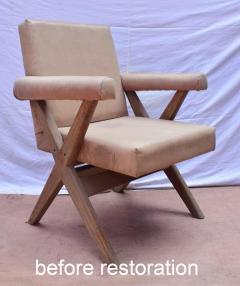 Pierre Jeanneret Pierre Jeanneret pair of X leg Armchairs 1960 - 1961741