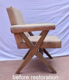 Pierre Jeanneret Pierre Jeanneret pair of X leg Armchairs 1960 - 1961742
