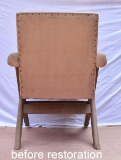 Pierre Jeanneret Pierre Jeanneret pair of X leg Armchairs 1960 - 1961744