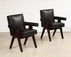 Pierre Jeanneret Pr Senat Arm Chairs by Pierre Jeanneret - 1752948
