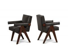 Pierre Jeanneret Pr Senat Arm Chairs by Pierre Jeanneret - 1752949