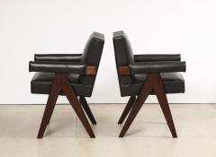 Pierre Jeanneret Pr Senat Arm Chairs by Pierre Jeanneret - 1752950