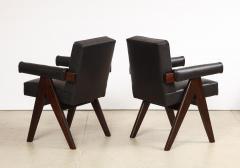 Pierre Jeanneret Pr Senat Arm Chairs by Pierre Jeanneret - 1752951
