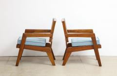 Pierre Jeanneret Rare Pair of Arm Chairs by Pierre Jeanneret - 1529976
