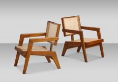 Pierre Jeanneret Rare Pair of Arm Chairs by Pierre Jeanneret - 1529977