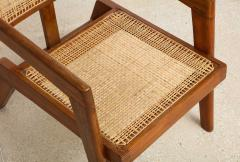 Pierre Jeanneret Rare Pair of Arm Chairs by Pierre Jeanneret - 1529978