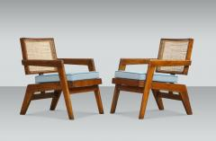 Pierre Jeanneret Rare Pair of Arm Chairs by Pierre Jeanneret - 1529979