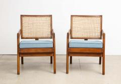 Pierre Jeanneret Rare Pair of Arm Chairs by Pierre Jeanneret - 1529981