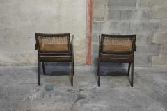 Pierre Jeanneret Set of 14 Amchairs in the style of PIERRE JEANNERET - 2031759