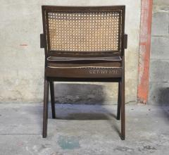 Pierre Jeanneret Set of 14 Amchairs in the style of PIERRE JEANNERET - 2031761