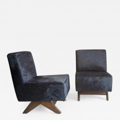 Pierre Jeanneret Sofa chair with compass legs ca 1955 - 1099123