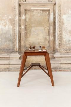 Pierre Jeanneret Wood Stool Attributed to Pierre Jeanneret - 1583924