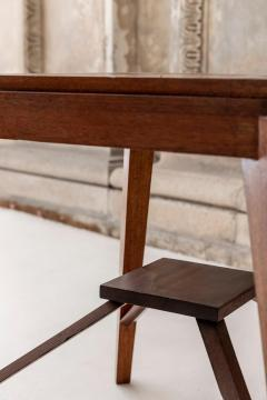 Pierre Jeanneret Wood Stool Attributed to Pierre Jeanneret - 1583937