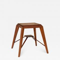 Pierre Jeanneret Wood Stool Attributed to Pierre Jeanneret - 1584875