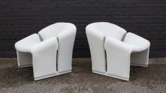 Pierre Paulin Early Pair of French Model F580 Lounge Chairs by Pierre Paulin for Artifort - 1484256